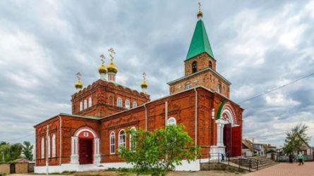 Свято-Никольский храм станица Обливская